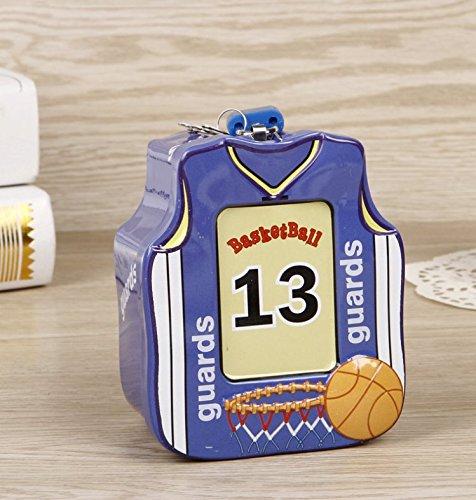 YOIL Decoración Hucha Cajas Ahorro Regalo Basketball