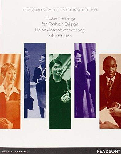 Patternmaking for Fashion Design: Pearson New International Edition Joseph Design