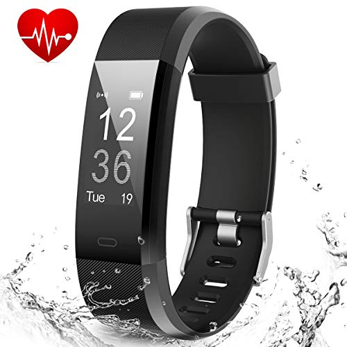 Muzili Smart Fitness Band Activity Tracker with Heart Rate Monitor, Sleep Monitor Activity, Fitness Tracker, USB Quick Charge for Smartphones