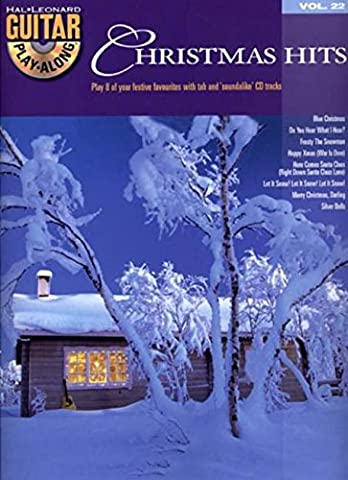 Guitar Play Along Christmas Hits Vol.22 Tab Book/Cd (Christmas Guitar Tab)