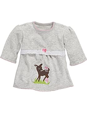 Schnizler Baby-Mädchen Langarmshirt, Tunika Reh, Oeko-Tex Standard 100