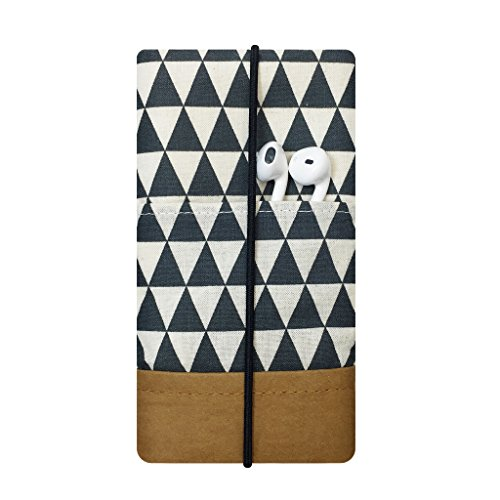 iPhone-Tasche Schwarz Weiss/Handytasche/Smartphone Case/Vegane Handytasche/Vegane Accessoires/Geschenk zum Muttertag