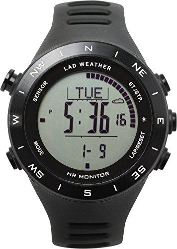 [Lad Wetter] Multifunktionsuhr Höhenmesser/Barometer/Kompass/Herzfrequenz Monitor/Wettervorhersage für Sport/Outdoor/Fitness