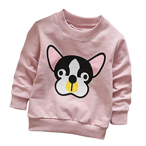 872b2ec07 Camisetas para 0-3 Años, Zolimx Niñas Niños de Manga Larga de ...