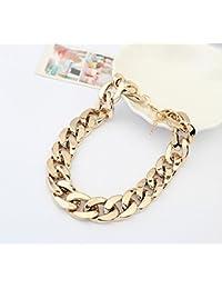 Skyllc® Gruesa Cadena Gargantilla Collar CCB Hip Hop collar