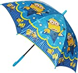 #8: My Party Suppliers Minions Print Cartoon Umbrella/Minion Umbrella for Kids/Umbrella for boys/Special design children umbrella with whistle