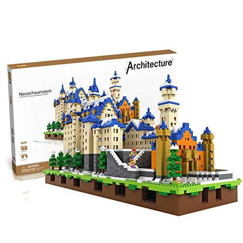Aiya Diamant blöcke Neuschwanstein DIY gebäude Spielzeug Schwan Stein schlosswelt gebäude pädagogische blöcke für kinderspielzeug Geburtstagsgeschenk für Kinder -