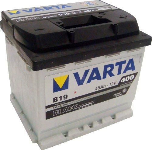 Preisvergleich Produktbild Varta BLACK Dynamic B19 Autobatterie 545 412 040 3122, 12V 45Ah 400A/EN