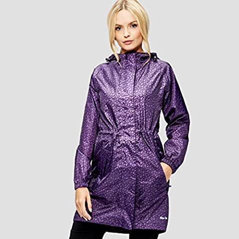 Peter Storm Women's Parka in a Pack Jacket, Purple, 14