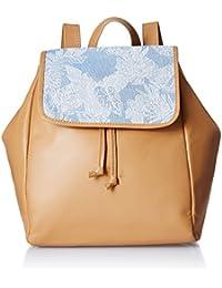 Kanvas Katha Tan Casual Backpack (KKPFB002)