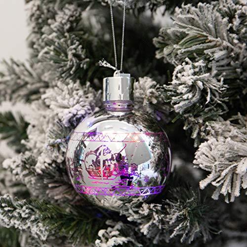 jieGREAT ❄ Weihnachten Deko❄ ,LED dekorative Weihnachten Runde Ball Lichter Home Terrasse Party Bar Dekoration -