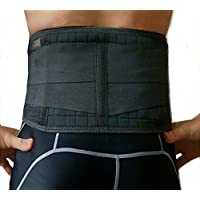 Rückenbandage Stützgürtel Rückengürtel Stabilisator mit 20 Magneten R-05 preisvergleich bei billige-tabletten.eu