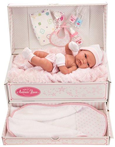 ANTONIO JUAN Baby Toneta Baul baño-Bambola Realistica, AJ6056