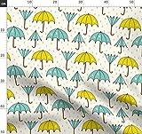 Regenschirm, Regentag, Regen, Regentropfen, Tropfen, Stoffe
