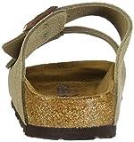 Birkenstock  –Arizona, Unisex-Sandalen mit 2 Riemen, Kork-Fußbett, Braun - Braungrau - Taupe Suede - Größe: 46 EU Test