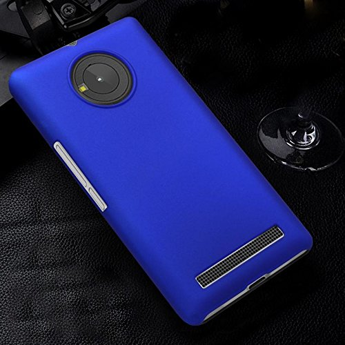 WOW Imagine(TM) Rubberised Matte Hard Case Back Cover For Micromax YU YUPHORIA (Blue)