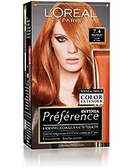Préférence L'Oréal Paris Coloration Permanente 7.4 Cuivré Intense