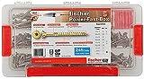 fischer Power-Fast-Box - Sortimentsbox - Premium-Spanplattenschrauben, 667005