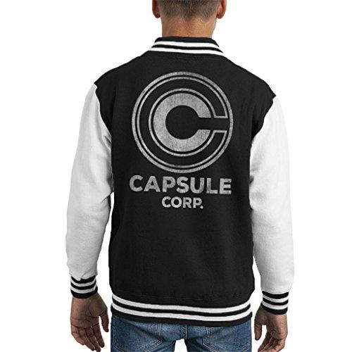 Capsule Corp Dragon Ball Z Kid's Varsity Jacket