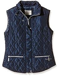 PFIFF Steppweste Elliston - Chaleco de hípica para mujer, color Azul, talla 2XL