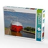 Autofähre in der Seeschleuse 1000 Teile Puzzle Quer