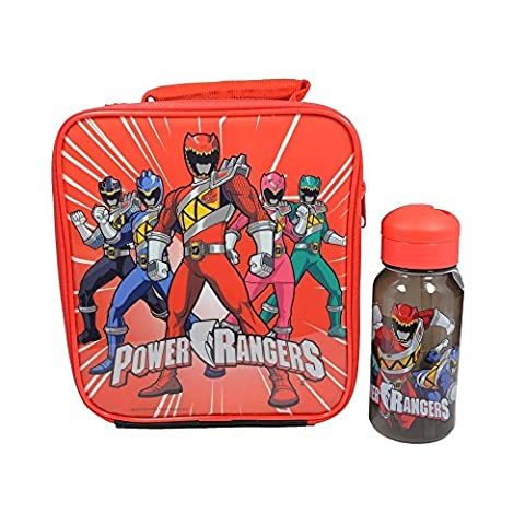 Power Rangers Lunch Bag and Bottle