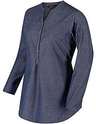 Regatta da donna Mackayla camicie, donna, Mackayla, Chambray, Taglia 14