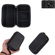Caso duro, estuche para cámara compacta Sony Cyber-shot DSC-HX60, bolsa / funda rígida con espacio para jaulas de memoria, batería de repuesto, cargador de jaula, etc. | prueba del choque - K-S-Trade(TM)