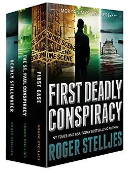 First Deadly Conspiracy: Crime Thriller Box Set (Mac McRyan Mystery Series, Books 1-3) (English Edition) par [Stelljes, Roger]