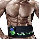 TESMED 7.7 Extra Belt elettrostimolatore: Cintura per Addominali con stimolazione Muscolare elettrica (EMS) - 8 programmi specifici per l'allenamento e la tonificazione dell'addome.