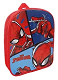 Spiderman Mochila Infantil, Red (Rojo) - SPID001206