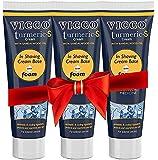 Vicco Ayurvedic Shaving Cream(Sandalwood Oil)-70g(Pack of 3)