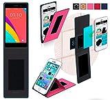 Oppo R5s Hülle in pink - innovative 4 in 1 Handyhülle -