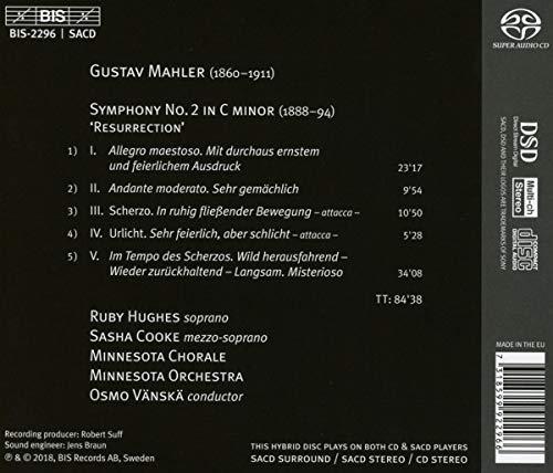 Zoom IMG-1 sinfonia n 2 resurrezione