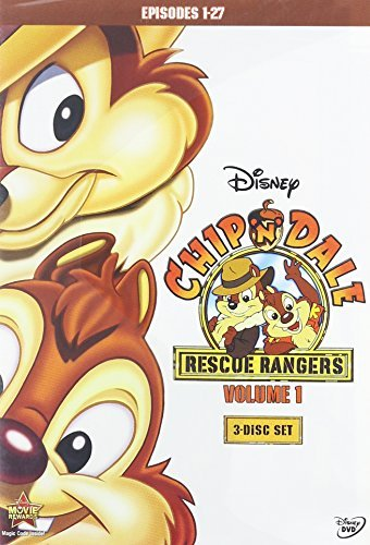 CHIP N DALE RESCUE RANGERS 1 - CHIP N DALE RESCUE RANGERS 1 (3 DVD) -