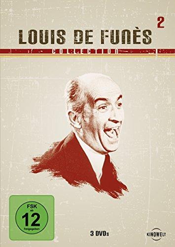 Louis de Funès Collection 2 (Die Abenteuer des Rabbi Jacob/Louis, das Schlitzohr/Louis, der Geizkragen) [3 DVDs]