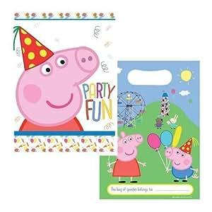8 Sacs à Surprise de fête - Peppa Pig