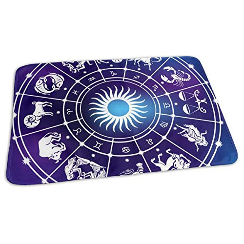 Voxpkrs Changing Pad Roman Zodiac Capricorn Baby Diaper Urine Pad Mat Customized Kids Mattress Pad Sheet for Any Places for Home Travel Bed Play Stroller Crib Car -