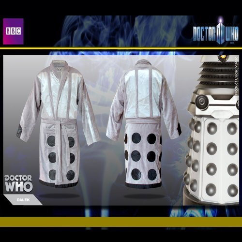 Dr Who - Silver Dalek Bathrobe