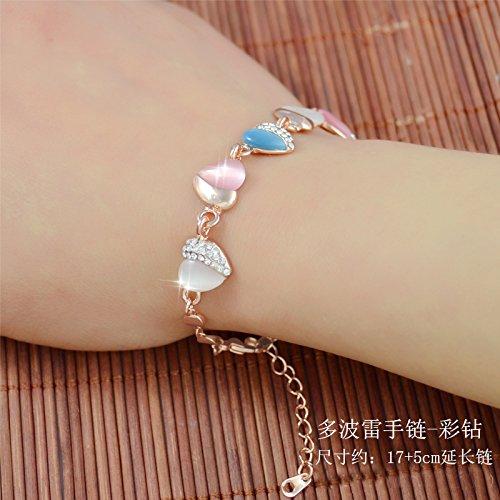 hoom-dama-moda-crystal-bracelet-opal-pulsera-en-dobley-diamond-bracelet