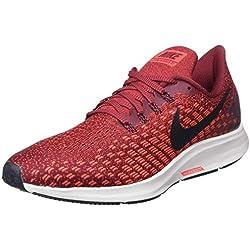 classic fit 612af d05ca Nike Air Zoom Pegasus 35, Zapatillas de Running para Hombre, Rojo, 42.5 EU