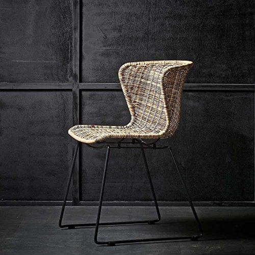 Pharao24 Stuhl im Loft Design Polyrattan
