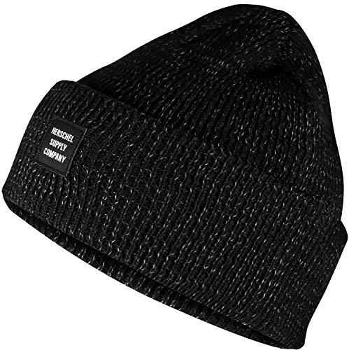 Herschel Supply Co. Noir Reflective Abbott Beanie