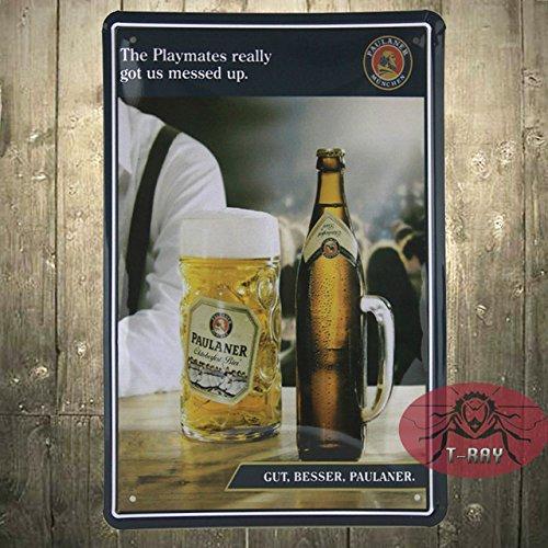 vintage-paulaner-monaco-di-baviera-bier-birra-tedesca-cartello-in-metallo-porcellane-rare-a-21