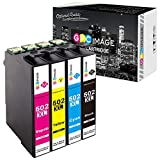 GPC Image 502 502XL Kompatibel Druckerpatronen Ersatz für Epson 502 XL für Epson Expression Home XP-5100 XP-5105, WorkForce W