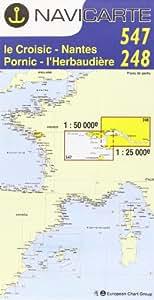 Carte marine : La Rochelle - Île d'Oléron - Marenne