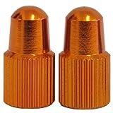 One23 Presta Valve Caps - Orange