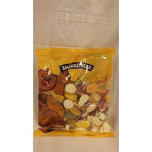 Smikkelbeer Fruchtgummi Zure Mix 1000g Beutel (saure Mischung)