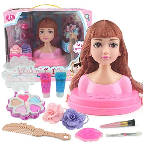 Further Puppenset Mit Makeup Flower Haarschmuck 2 Schminktäschchen 1 Haarkammpuppe 1 Makeup Brush 2 Digit 1 Handcreme 2