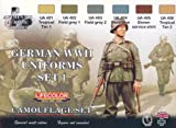 Tarnfarben Set LifeColor CS04 GERMAN WWII UNIFORMS SET1